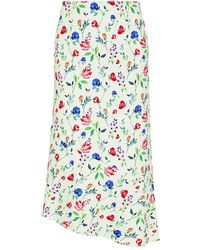 Marissa Webb Pernille Floral Skirt - Multicolor