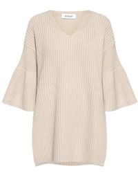 10 Crosby Derek Lam - Bell Sleeves V-neck Tunic Sweater - Lyst