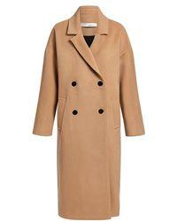 IRO - Bandy Wool-blend Oversized Long Coat - Lyst