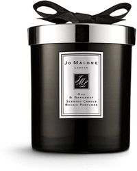 Jo Malone Velvet Rose And Oud Home Candle 200g - Black