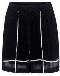Preen Line - Angie Striped Shorts - Lyst