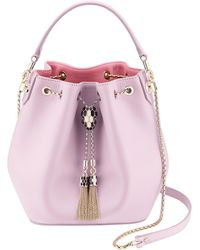BVLGARI Serpenti Forever Bucket Bag - Pink