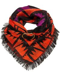 Lizzie Fortunato Hope Metal Slider Scarf - Multicolor