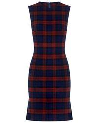 10 Crosby Derek Lam - Plaid Godget Dress - Lyst