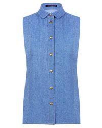 Harvey Faircloth - Sleeveless Shirt - Lyst