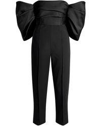 Solace London Kasey Jumpsuit - Black