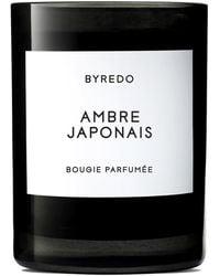Byredo Ambre Japonais Scented Candle 240g - Black