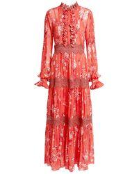 Alexis - Armada Floral Maxi Dress - Lyst