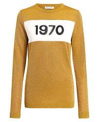 Bella Freud - 1970 Metallic Sweater - Lyst