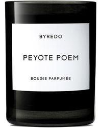 Byredo Peyote Poem Scented Candle 240g - Black