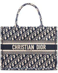 Dior Book Small Tote - Blue