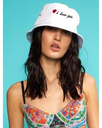 Cynthia Rowley I Love You Bucket Hat - Multicolor