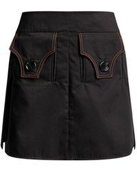 Ellery Nothing Matters Mini Skirt - Black