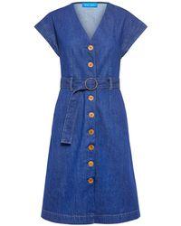 M.i.h Jeans Tucson Belted Denim Dress - Blue