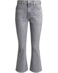 Citizens of Humanity Demy Cropped Flare Jeans - Gray