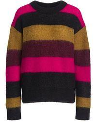 A.L.C. - Waverly Color-block Stripe Oversized Sweater - Lyst