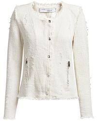 IRO Agnette Tweed Jacket - Multicolor