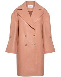 Carven | Studed Bell Sleeve Coat | Lyst