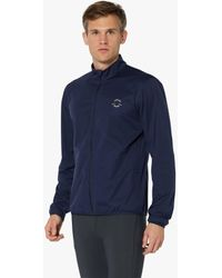 Iffley Road Marlow Lightweight Waterproof Jacket Night Sky - Blue