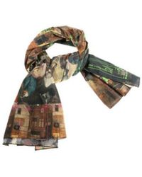 Vivienne Westwood Bruegel Cotton Scarf - Multicolor