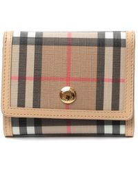 Burberry - Lancaster Vintage Check Wallet - Lyst