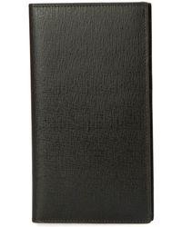 Brioni Continental Leather Cardholder - Black