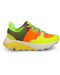 Dondup Done Fluo Trainers - Green