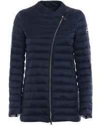 Colmar Punk Asymmetrical Zip Blue Jacket
