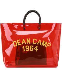 DSquared² Dean Camp Tote - Red