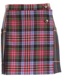 Vivienne Westwood Court Kilt Multicolour Skirt