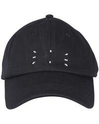 McQ Cappellino da baseball in cotone - Nero