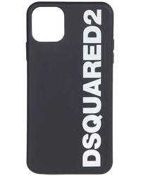 DSquared² Cover Per Iphone 11 Pro Max Nera - Nero