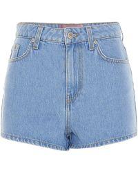 Chiara Ferragni Shorts Flirting azzurri - Blu