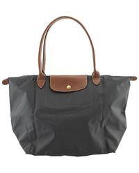 Longchamp Le Pliage Large Bag - Gray