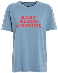 Roy Rogers Work T-shirt - Blue