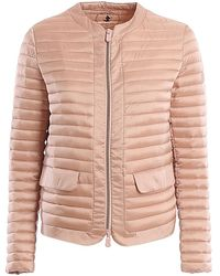 Save The Duck Water Repellent Nylon Padded Coat - Pink