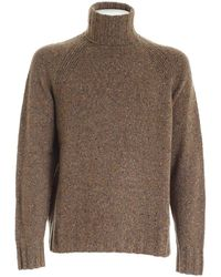 PS by Paul Smith Speckle Turtleneck - Brown