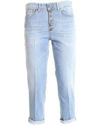 Dondup Jeans Koons Gioiello azzurro - Blu