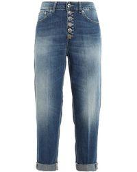 Dondup Koons Loose Fit Jeans - Blue