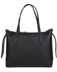 Tod's Shopping Bag Medium In Black