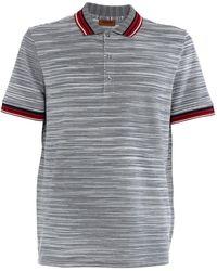 Missoni - Polo in maglia di cotone - Lyst
