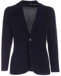 Altea Knitted Jacket In Blue