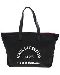 Karl Lagerfeld - Rue St Guillaume Tote Bag - Lyst