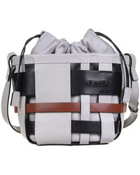 Vic Matié Mini Bucket Bag Inga In Gray