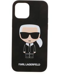 Karl Lagerfeld K Ikonic Iphone 1212 Pro Case In Black