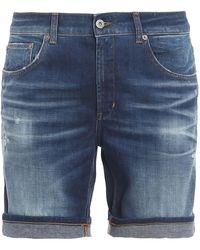 Dondup Shorts Derik - Blu