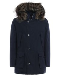 Woolrich - Cotton And Nylon Military Parka - Lyst