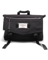 Givenchy - Downtown Messenger Tech Fabric Bag - Lyst