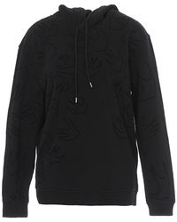 McQ Swallow Over Hoodie - Black
