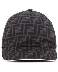 Fendi Ff Baseball Hat - Black